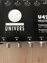 Sat Multiswitch Satanlage 9x8 Univers