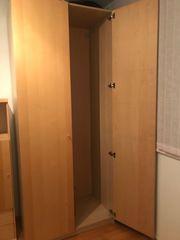 IKEA PAX Kleiderschrank Birke 100x58x236