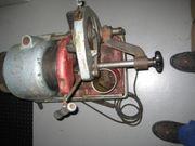 Rems Gewindeschneidmaschine 240 Volt einsatzbereit