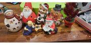 Weihnachten Deko Teelichhalter Figuren