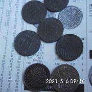 10 Reichspfennig großer Adler Eisen