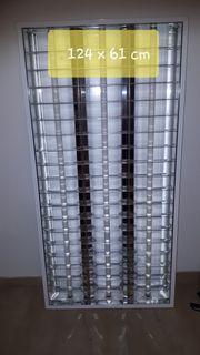 Rasterleuchte - Lampe aus Metall