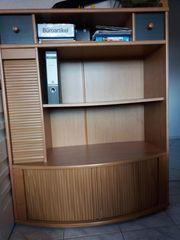 Büroschrank Aktenschrank Sidebord mit Rolladen