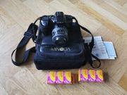 Minolta Spiegelreflexkamera Dynax 500si mit