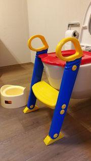 Toilettentrainer WC-Stiege Töpfchen