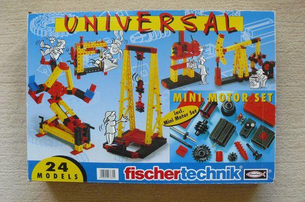 Fischertechnik Universal Universal II Robo