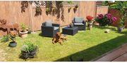 Kunststoff-Rattan-Möbel-Set für Garten Terrasse Balkon
