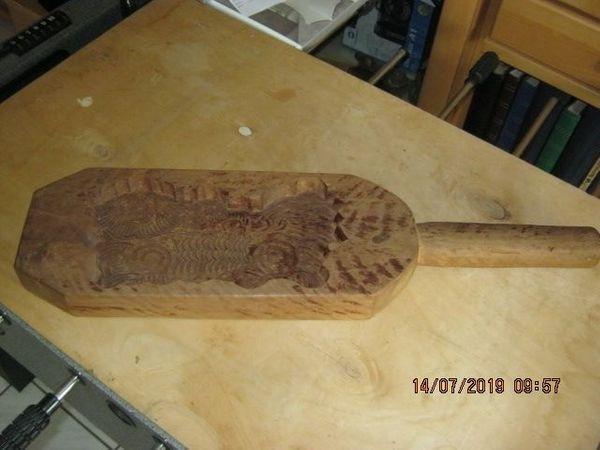 Ein altes Holz Buttermodel