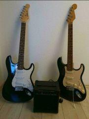 2 E-Gitarren Verstärker