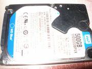 Notebook-Festplatte 500 GB SATA WD