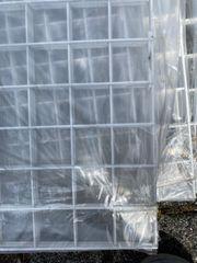 weiße Gitter 1 x 2
