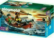 Piraten-Ruderboot mit Hammerhai Playmobil 5137