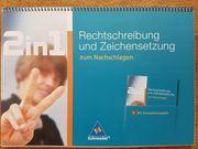 Rechtschreibung und Zeichensetzung 2in1
