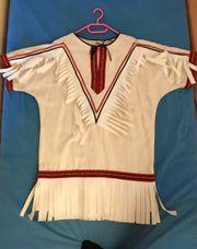 Schönes Faschings Indianerkostüm je für