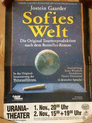 Veranstaltungsplakat Sofies Welt in Berlin