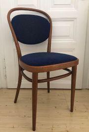 Vintage Thonet Stuhl Holz