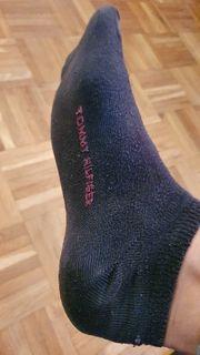 getragene Tommy Hilfiger Sneakersocken