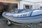Schlauchboot mit 30PS Mercury und