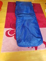 Sitzsack und Gästematraze blau SAKWA -