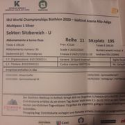 Multipass Silver Biathlon WM 2020