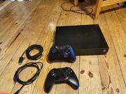 Xbox One X mit 2