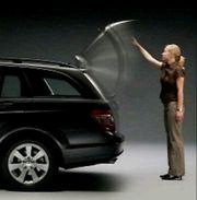 Mercedes Heckklappe mit Funkschlüssel schließen