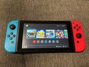Nintendo Switch Spielekonsole - Rot Blau