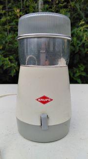 Vintage Kaffeemühle Krups