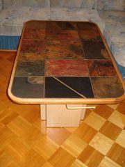 Ecksofa Couch Sofa Wohnzimmertisch Tisch