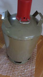 Gasflasche 11kg grau halbvoll