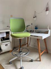 Steelcase Cobi Schalterstuhl Bürodrehstuhl Höhenverstellbar