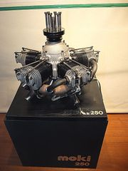 MOKI S 250 Sternmotor mit
