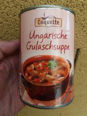 Konserven Dosen Ungarisches Gulasch und