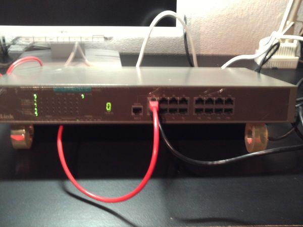 Switch 16 Port von D-LINK