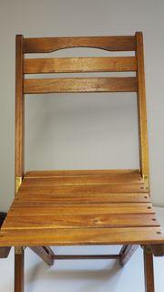 Balkon - Gartenmöbel Klapptisch Klappstühle Stühle