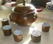 Bowlegarntur Keramik handgetöpfert
