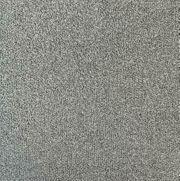 Graue Teppichfliesen NEU Silber Boucle