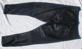 Motorradbekleidung Herren - Lederjeans Lederhose schwarz gebraucht Gr