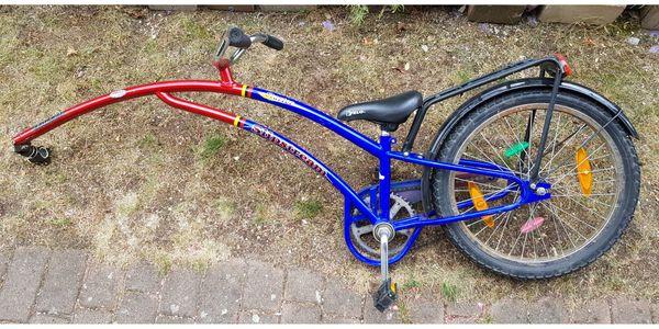 Trailerbike Anhängerad Nachläuferrad Kinderrad guter
