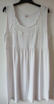 Sommer Kleid weiß Baumwolle neu
