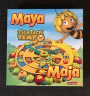 Verkaufe Maya Tick-Tack Tempo Uhrenbrettspiel