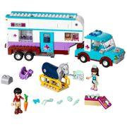 Lego Friends Pferdanhänger und Tierärztin