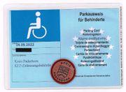 Wehr verschenkt an einen Behinderten