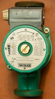 Wilo Pumpe NEU RS 30