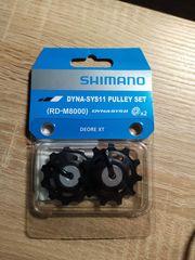 nagelneuer Shimano Schalt- und Leitrollensatz