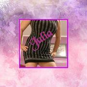 Kleid M L Glitzer schwarz