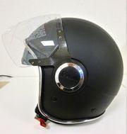 Vespa Jethelm VJ - schwarz Größe