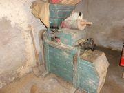 Historische alte Getreideschrote Getreidemühle