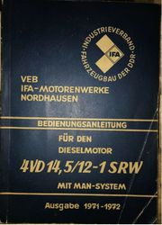 Fahrzeugbau DDR Dieselmotor 4VD SRW