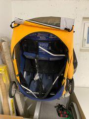 Kinderanhänger Marke Chariot 2 Kinder